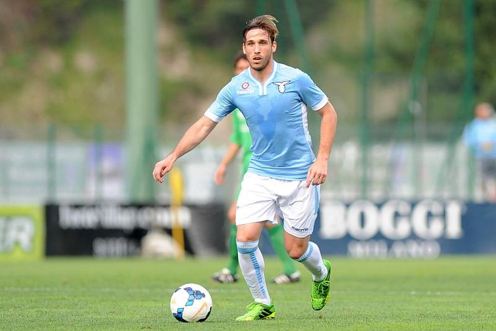 Biglia, autore del gol che sblocca la partita