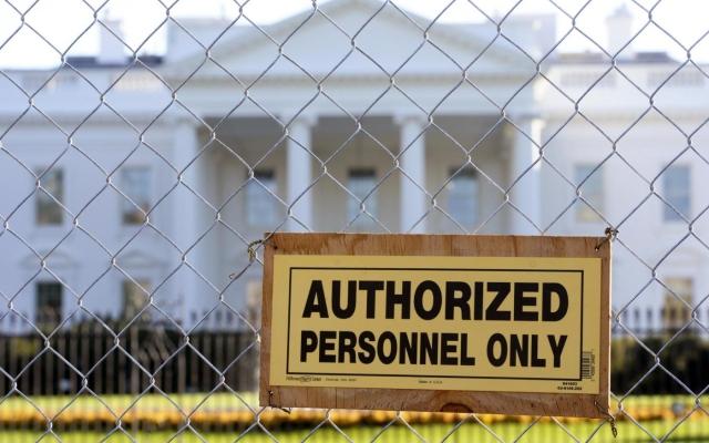 La recinzione della Casa Bianca