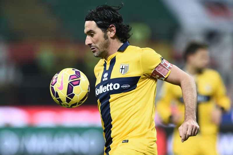 Lucarelli, capitano del Parma