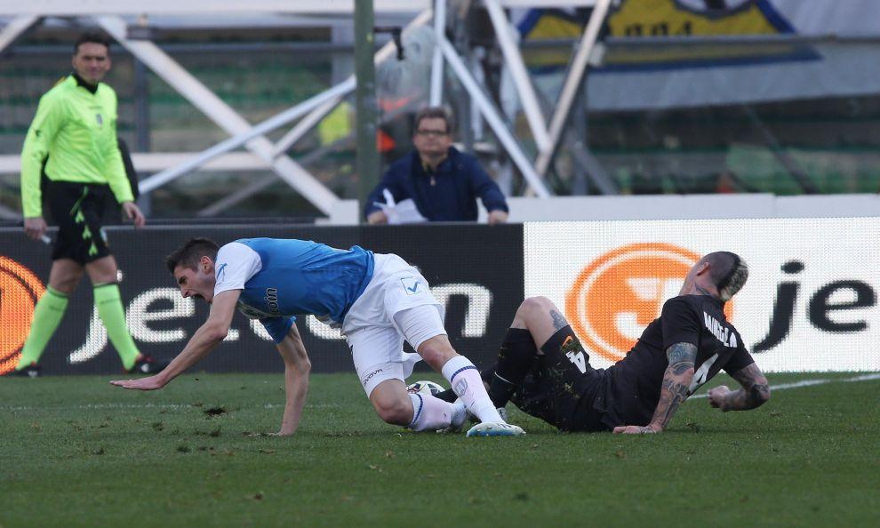 Le immagini shock dell'infortunio di Mattiello