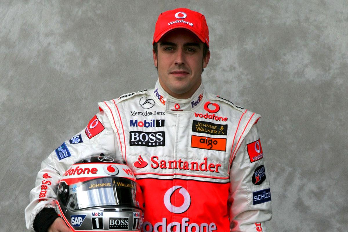 Fernando Alonso, neo pilota della McLaren