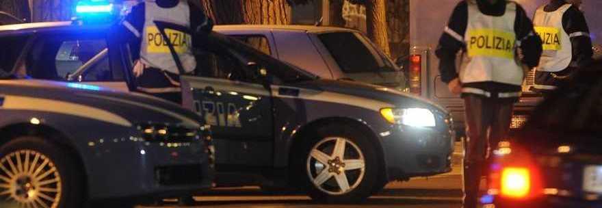 La polizia intervenuta sul luogo del delitto