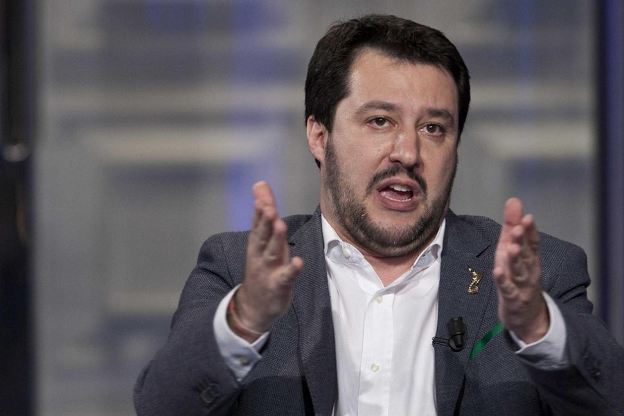 Matteo Salvini, leader del Carroccio